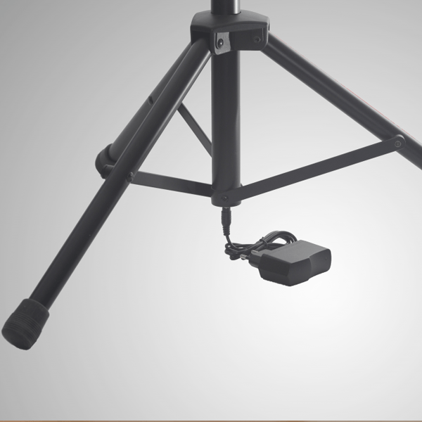 Scora powerstand can charge your tablet through the stand