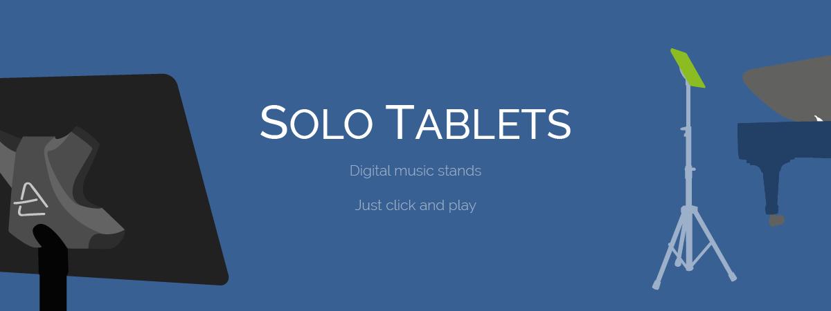 Scora digital music stands
